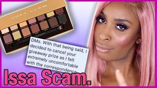 Video Jackie Aina Giveaway Scam: She's Cancelled. MP3, 3GP, MP4, WEBM, AVI, FLV Juni 2018
