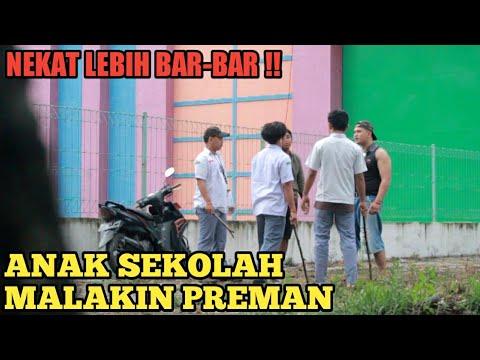 NEKAT !! ANAK SEKOLAH NGOMPAS PREMAN | PRANK INDONESIA | DANA WIBOWO