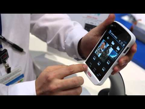 Biometric - We go hands on at MWC 2013 to check out CrucialTec's new biometric fingerprint scanner technology, which can independently scan all 10 of your fingers and re...