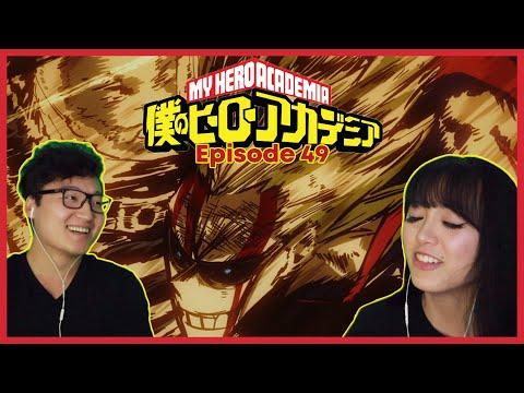 UNITED STATES OF SMASH   My Hero Academia Reaction Episode 49 / 3x11