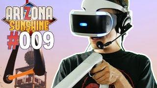 BLUTIGES FINALE + ENDE • Let's Play Arizona Sunshine VR #009 [Facecam/Deutsch]