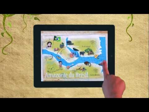 L'Amazonie de Lulu de Zanzibook - Ipad & Iphone application