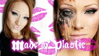 Made of Plastic Makeup Tutorial - YouTube