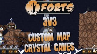 We jump into a flipping fantastic new custom map Crystal Caves and cause chaos in a Forts 3v3 match! Want more awesome ...