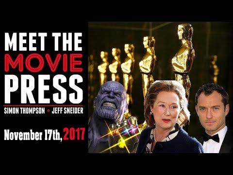 The Post, Oscar Talk, Infinity War Trailer, and Blaxploitation Films - Meet the Movie Press