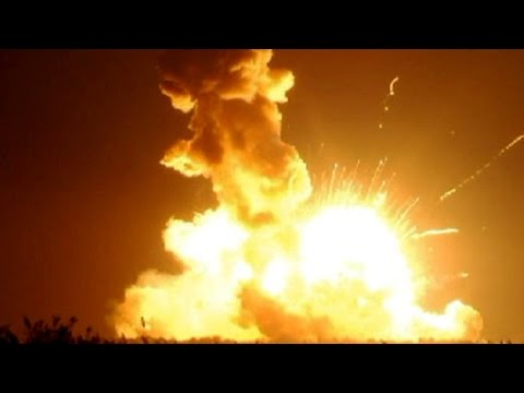 explosion - The explosion of Antares rocket during its launch: video by NASA. Antares rocket explodes during its launch. NASA Statement Regarding Oct. 28 Orbital Science...