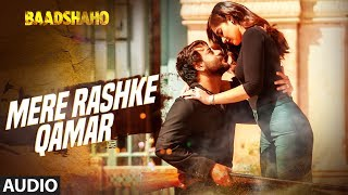 """Mere Rashke Qamar"" Audio ""Song""  Baadshaho  Nusrat Fateh Ali Khan, Rahat Fateh Ali Khan  New Song 2017Presenting the first song full audio ""Mere Rashke Qamar"" from the upcoming movie Baadshaho, Gulshan Kumar presents a T-Series production in association with Vertex Motion Pictures Pvt Ltd. Produced by Bhushan Kumar Krishan Kumar and Milan LuthriaIndian action thriller film written by Rajat Arora, directed by Milan Luthria. It features Ajay Devgn, Emraan Hashmi, Esha Gupta, Ileana D'Cruz Vidyut Jammwal and Sanjay Mishra in the lead rolesGet it on iTunes - http://bit.ly/MereRashkeQamar_Baadshaho_iTunesAlso, Stream it onHungama - http://bit.ly/MereRashkeQamar_Baadshaho_HungamaSaavn - http://bit.ly/MereRashkeQamar_Baadshaho_SaavnGaana - http://bit.ly/MereRashkeQamar_Baadshaho_GaanaApple Music - http://bit.ly/MereRashkeQamar_Baadshaho_AppleMusicFor  Caller Tunes :""Mere Rashke Qamar"" http://bit.ly/2uZKhpBAise Leherake - ""Mere Rashke Qamar"" http://bit.ly/2vkGYZfRet Hi Ret - ""Mere Rashke Qamar"" http://bit.ly/2uqSndJSet as Caller Tune:Set ""Mere Rashke Qamar"" as your caller tune - sms BDSHO1 To 54646Set ""Aise Leherake - Mere Rashke Qamar"" as your caller tune - sms BDSHO2 To 54646Set ""Ret Hi Ret - Mere Rashke Qamar"" as your caller tune - sms BDSHO3 To 54646________________________________________Song - Mere Rashke QamarSingers -Nusrat Fateh Ali Khan, Rahat Fateh Ali KhanMusic Composer And Music Programming-Tanishk Bagchi Lyrics: Manoj MuntashirORIGINAL CREDITSOriginal Copyright: Hi Tech Music Pvt Ltd, UKSingers -Nusrat Fateh Ali KhanMusic -Nusrat Fateh Ali KhanLyrics: A1 Melody Master-Fana, Nusrat Fateh Ali KhanHarmonium-Pradeep PanditMandolin- Prodipto Sen GuptaAdditional vocals-Nanda, Kumar, Ganesh, PrasannaAll Live Instruments Recorded At Tanishk Studios By Tanishk Bagchi Song Mixed & Mastered By Eric Pillai(Future Sound Of Bombay)Mix Assistant Engineers - Michael Edwin Pillai & Lucky ___Enjoy & stay connected with us!► Subscribe to T-Series: http://bit.ly/TSeriesYouTube► Like us on Facebook: https://www.facebook.com/tseriesmusic► Follow us on Twitter: https://twitter.com/tseries► Follow us on Instagram: http://bit.ly/InstagramTseries"