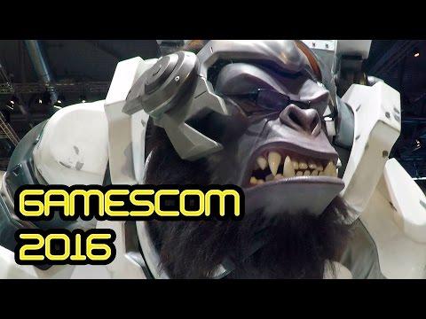 Выставка в Кельне — Gamescom 2016