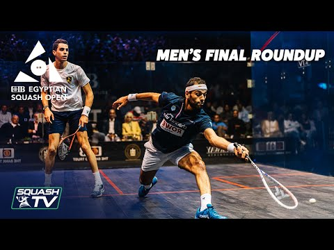 Squash: CIB Egyptian Open 2021 - Men's Final Roundup