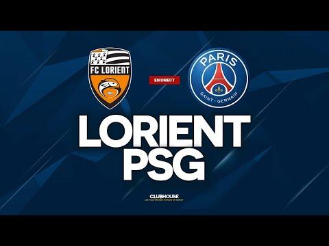 🔴 LORIENT - PSG // ClubHouse + Tirage Coupe de France