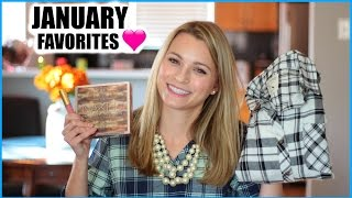 January Favorites 2015 | Beauty + Fashion + Lifestyle!