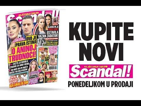 SCANDAL NOVINE! Istina o trudnoći Ane Korać! Rada: Dijana mi je ostavila važan zadatak! Aca Lukas se ženi! Lunina iskrena ispovest!