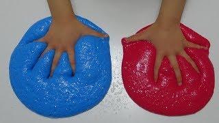 Slime Yapmayı Seviyoruz Renk Renk Slime Yaptık