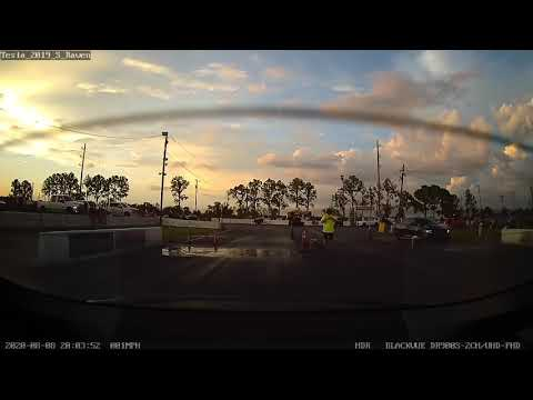 Tesla S Raven: Fastest 1/4mile ET yet! 10.49 seconds!