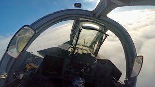 Тренировка экипажей штурмовиков Су-25СМ3 «Грач» в Краснодарском крае