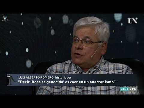 """Entrevista a Luis Alberto Romero en el programa """"Desde el diván"""" de LN+ – 27/12/17"""