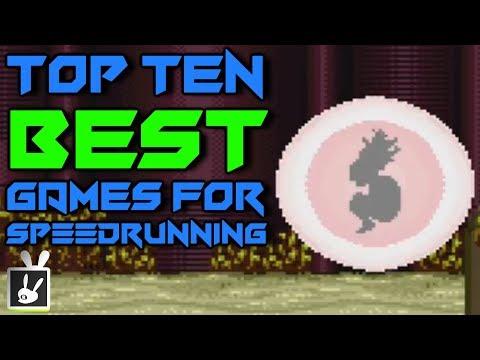 Top Ten Best Games for Speedrunning
