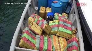Decomisan en pacifico colombiano una tonelada de cocaína