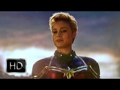 Fight Scene: Captain Marvel Carries Gauntlet | Avengers: Endgame (2019) (HD)