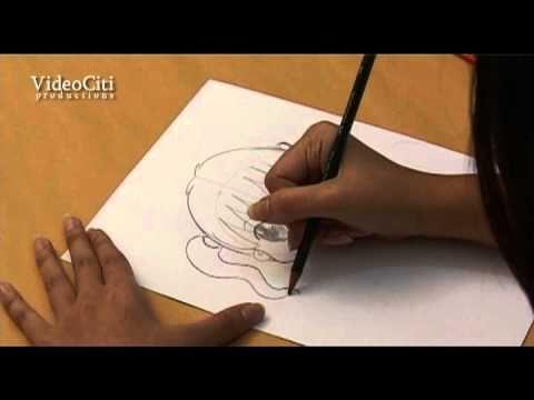 Video belajar menggambar online untuk anak teknik melukis ilustrasi