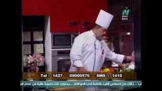 شوربة المشروم بالكريمة - جمبري مشوي - برنامج من كل بلد اكلة - الشيف خالد ابوسريع