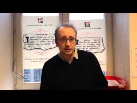 In solidarity with ERT journalists in Greece (видео)