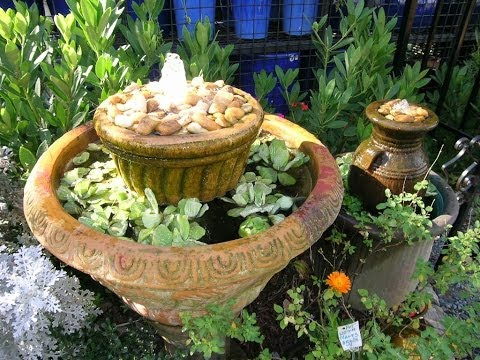 Make Your Own Water Feature, Easy as 1,2,3