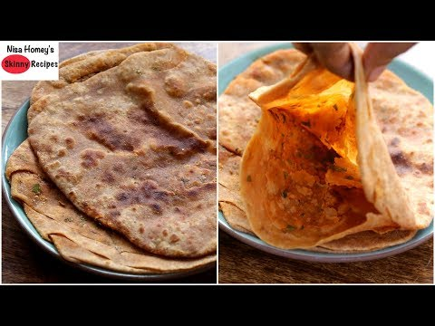 Namak Mirchi Ka Paratha Recipe (Rajasthan Special) - Bachelor / PG Cooking - Dinner In 10 Minutes