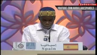 [hd] [spain And Barbados ] 2012 Dubai International Quran Competition