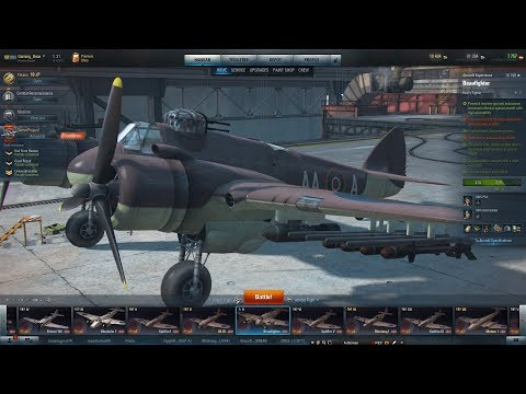 World of Warplanes Beaufighter