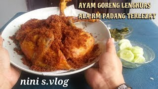 Video AYAM GORENG LENGKUAS ALA RM PADANGLEZAT ENAK #TIPS &TRICK MP3, 3GP, MP4, WEBM, AVI, FLV Maret 2019