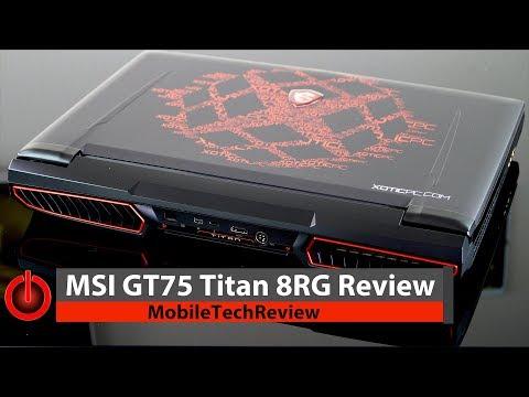 """MSI PC Portable GT75 Titan 8RF-047FR 17,3"""" FHD - RAM 16Go - Core i7-8850H"""