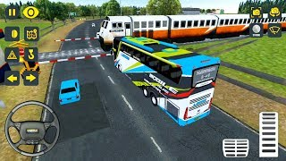 Mobile Bus Driving Simulator: 2019 Update - The Bus Goes To Yogyakarta - Android Gameplay