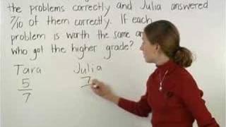 Fraction Word Problems - MathHelp.com - Math Help