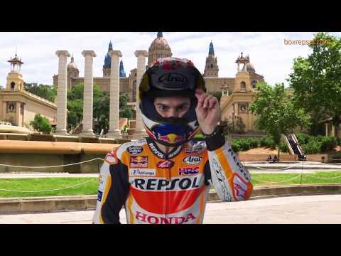 Vídeos de 'Marc Márquez y Dani Pedrosa, dos barceloneses más antes del GP de Catalunya'