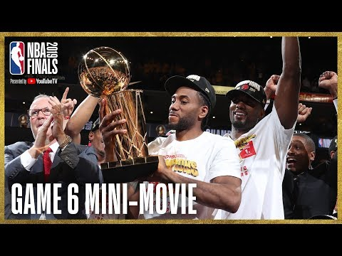 2019 NBA Finals Game 6 Mini-Movie