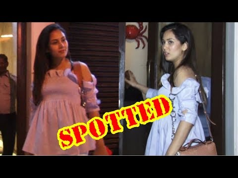 Mira Rajput Spotted Post Dinner With Friends In Bastian , Bandra