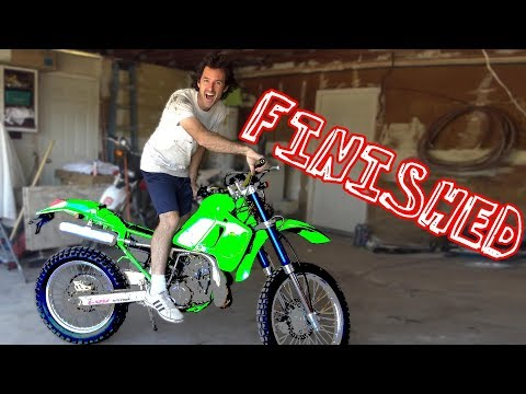 $200 Kawasaki Dirt bike - TRANSFORMATION COMPLETE - Thời lượng: 25 phút.