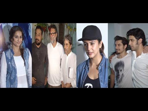 Huma, Vidya, Vishal & Other Celebs At Screening Of Movie Haider