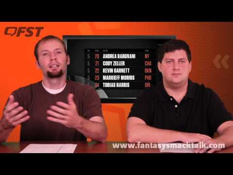 2013-2014 Fantasy Basketball Power Forward Tiers and Rankings