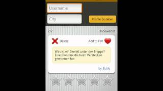 Witzopedia - German Jokes App YouTube video
