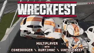 WRECKFEST for Breakfast - 27 - Cone Gets Raptured, Again