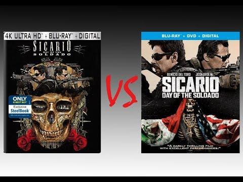 ▶ Comparison of Sicario: Day of the Soldado 4K HDR10 vs Sicario: Day of the Soldado Blu Ray Edition