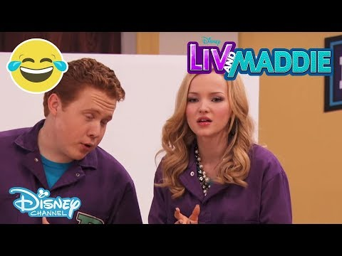 Liv And Maddie | Brain - A- Rooney | Disney Channel Uk