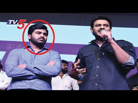 Prabhas Sensational Comments On Sharwanand