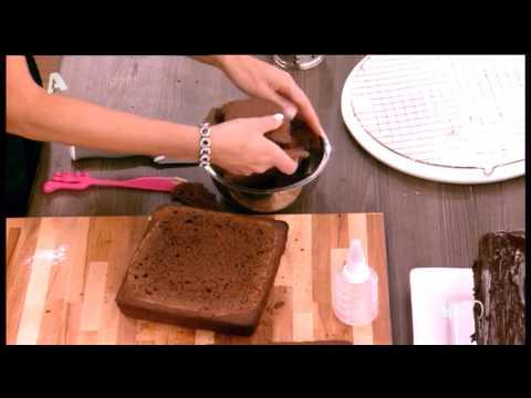 Σοκολατένια σπιτάκια από την Άννα Μαρία Μπαρού - Μέρος Β'