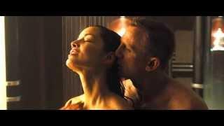 Super Model BERENICE MARLOHE Hot & Wet Shower SEX Scene   HD   Skyfall