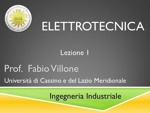 Elettrotecnica Lezione 1