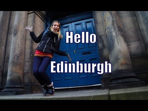 Our first impressions traveling to Edinburgh, Scotland travel video