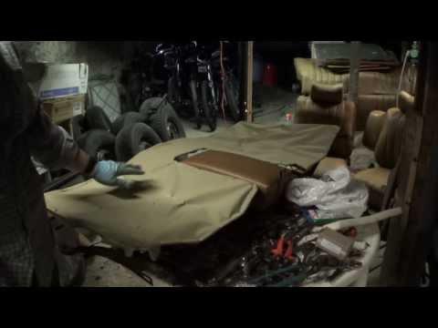 Mercedes-Benz 240D (W123) rear seat rebuild – part 2
